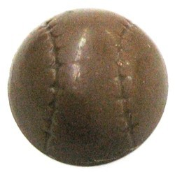 Chocolate Baseball Half