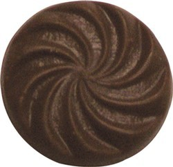Chocolate Circle Swirls