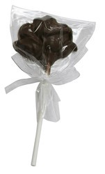 Chocolate Rose on a Stick Small