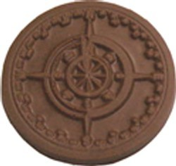 Chocolate Ship Compass