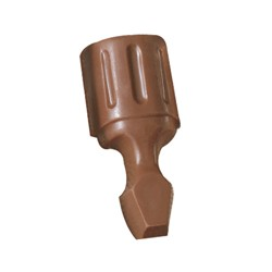 1 oz. Custom Chocolate Screwdriver - Click Image to Close