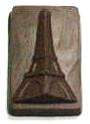 Chocolate Eiffel Tower Rectangle