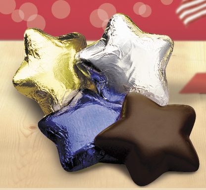 A la Carte Chocolate Stars