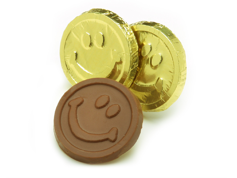 Smiley Face Coin (Box of 250)