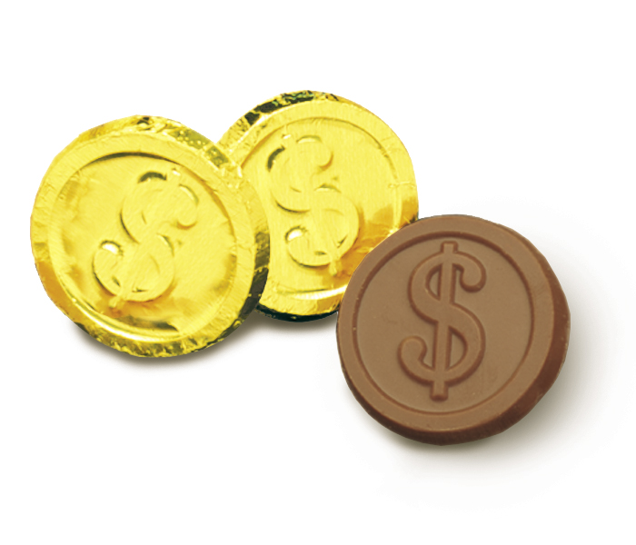 Dollar Sign Coin (Box of 250)