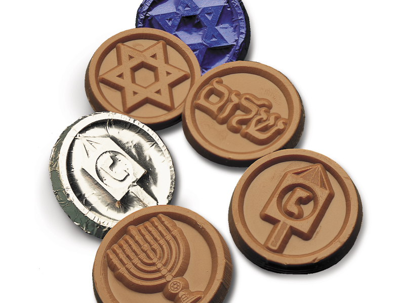 Hanukkah Coins - Assorted Designs (Box of 250)