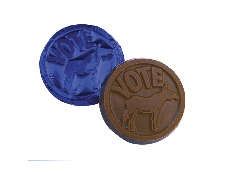 Vote Democratic Party Coin
