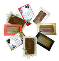 Chocolate Business Cards - Click Image to Close