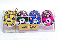 Chocolate Casino Chip Rack - 4 Rows