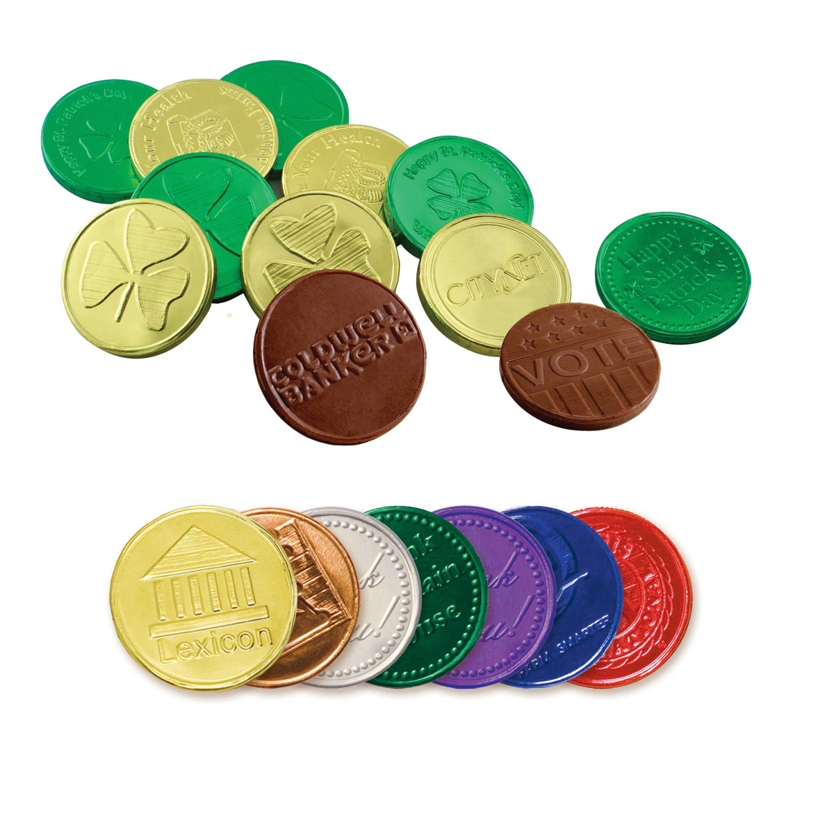 Chocolate Coins - Personalized