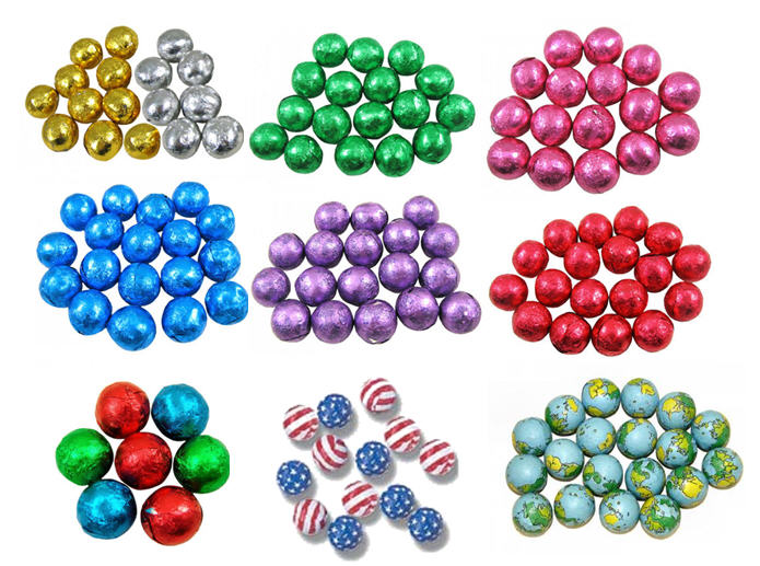 Chocolate Balls - Marbles