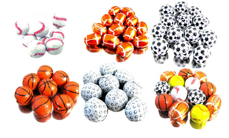 Chocolate Balls - Sports - Click Image to Close