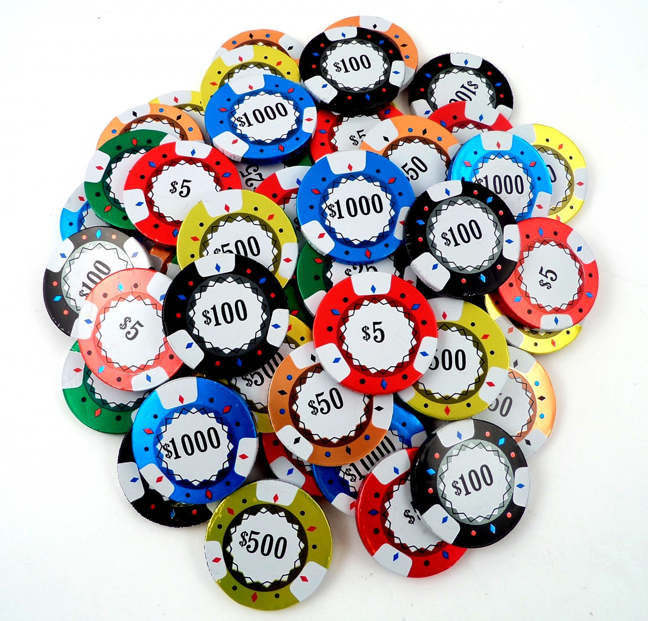 Chocolate Casino Chips - Bulk