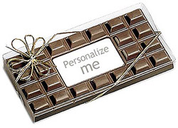 Chocolate Bar Card - Click Image to Close