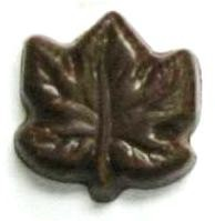 Chocolate Maple Leaf Small
