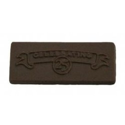 Chocolate Celebrating 25 Years Rectangle