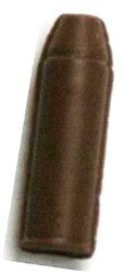 Chocolate Bullet Small 3D - Click Image to Close