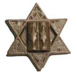 Chocolate Star of David Large
