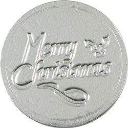 Merry Christmas Chocolate Coin
