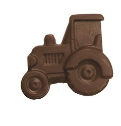 Chocolate Tractor on a Stick