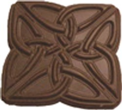 Chocolate Celtic Knot Large