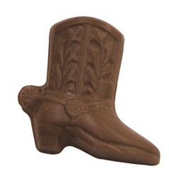 Chocolate Cowboy Boot w/Spur