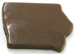 Chocolate State Iowa Shape Only