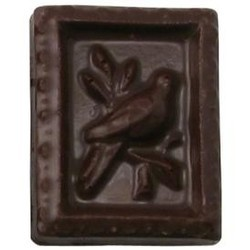 Chocolate Stamp Bird in Tree