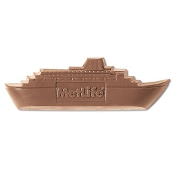 .5 oz Custom Chocolate Cruiseship Boat or Yacht