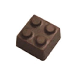 Chocolate Lego Block - Click Image to Close