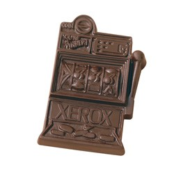 2.5 oz Custom Chocolate Slot Machine - Click Image to Close