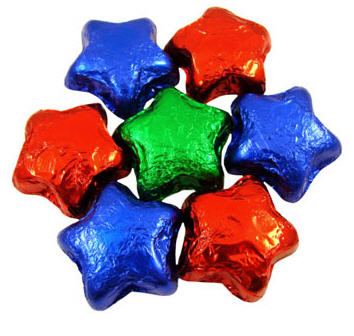 Chocolate Stars - Assorted (Milk)