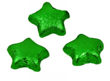 Chocolate Stars -Green (Milk)