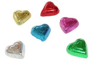 Chocolate Hearts - Premium - Assorted