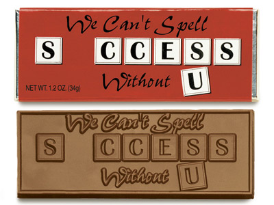We can't spell success without U(Case of 50 Bars) - Click Image to Close