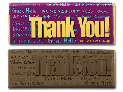 Thank You(Case of 50 Bars) - Click Image to Close