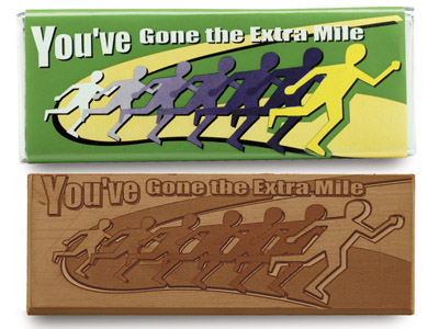 You have gone the extra mile(Case of 50 Bars) - Click Image to Close