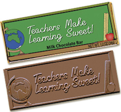 Teachers make learning sweet(Case of 50 Bars) - Click Image to Close