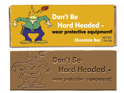 Don't be hard headed(Case of 50 Bars) - Click Image to Close