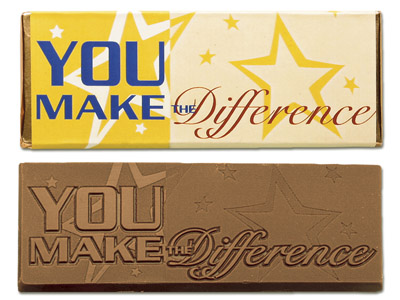 You make the difference(Case of 50 Bars) - Click Image to Close