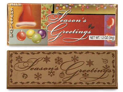 Season's Greetings(Case of 50 Bars)