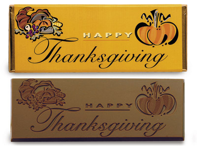 Happy Thanksgiving(Case of 50 Bars) - Click Image to Close