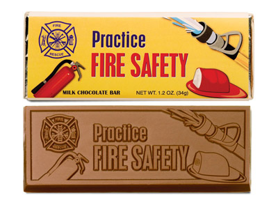 Fire Safety Bar(Case of 50 Bars) - Click Image to Close