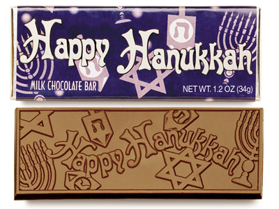 Happy Hannukah(Case of 50 Bars) - Click Image to Close