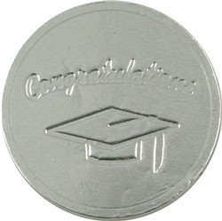 Graduation Hat Chocolate Coin - Click Image to Close