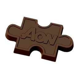 oz. Custom Chocolate Puzzle Piece Cutout