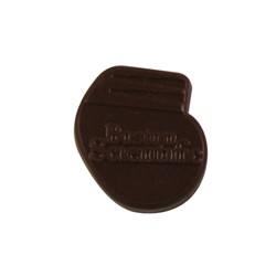.75 oz. Custom Chocolate Cutout Shape