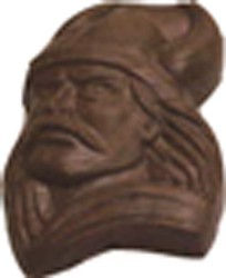Chocolate Viking on a Stick - Click Image to Close