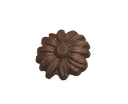 Chocolate Daisy Large Round