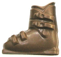 Chocolate Ski Boot